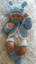 "Hand made clothes set for 14 ""LA new born berenguer /cup cake  reborn baby doll"