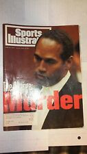 New listing O.J. Simpson, June 17, 1994 Sports Illustrated with cover, The Charge: Murder