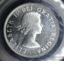 Canada 50c Cents Half Dollar 1953 MS65 PCGS silver KM#53 Lg Date Shoulder Strap
