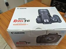 CANON EOS Rebel T6 Digital SLR Camera Kit with EF-S 18-55 IS II