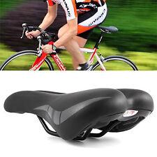 Road MTB Mountain Bike Bicycle Saddle Spring Seat Soft Gel Padded Cushion Cover