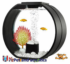FISH R Fun, Deco Mini Fish Tank 10 L Nero