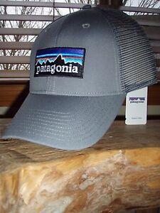Patagonia P-6 Logo Feather Grey LoPro Trucker Hat