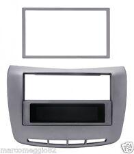 Mascherina ISO/Doppio Din per Lancia Delta '08> colore antracite metallizzato