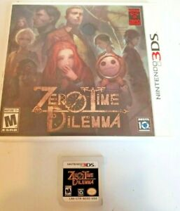 Zero Time Dilemma (Nintendo 3DS, 2016)