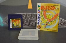 Pocket monsters kin gold (pokemon gold) game and manual japan game boy color jap jp