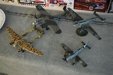 Lot of 4 1/72 WW2 Model Aircraft Me-110, Fw-189, Fw-190, DO-17