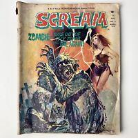 Scream #5 Zombie Rise - April 1974 Skywald Horror-Mood Magazine