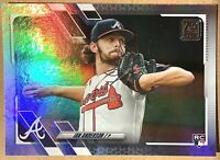 2021 Topps Series 1 IAN ANDERSON Rainbow Foil Rookie Card RC SP Silver Braves