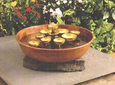 Woodstock Water Bell Fountain Copper Bowl -