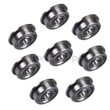 2PCS MF104ZZ (4x10x4 mm) Metal Shielded (Flanged) PRECISION Ball Bearing