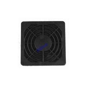 60mm x 60mm Plastic Fan filter (Black)