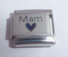 MAM & HEART Italian Charm - 9mm fits Classic Bracelets - I Love my Mummy Mum N39