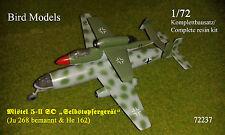"Mistel 5-ii tan ""incluso víctimas dispositivo"" 1/72 Bird models resinbausatz/resin Kit"