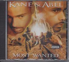 """KANE & ABEL  """"Most Wanted""""  NEW SEALED CD  (PARENTAL ADVISORY - EXPLICIT LYRICS)"""