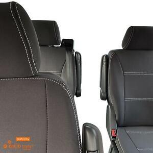 Fit Volkswagen VW Multivan T5 (Dec04-Nov15) FULL-BACK Front & REAR Seat Covers