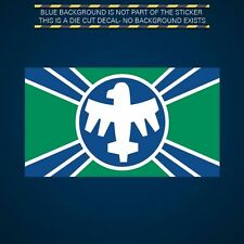 Starship Troopers Federal Service Flag Sticker Die Cut Decal Self Adhesive