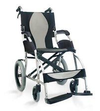 Wheelchair Light Transit - Karma Ergo Lite Deluxe Transit 18x16 Inch Seat