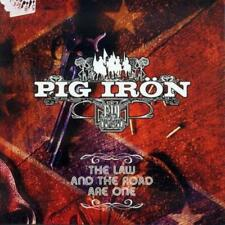 Pig Irön - The Law And the Road Are One CD NEU