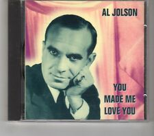 (HK395) Al Jolson, You Made Me Love You - 1995 CD