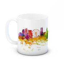 Nottingham Skyline, England Cityscape - High Quality Ceramic Mug