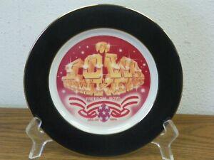 """University of Iowa Hawkeyes Hawk Head 7"""" Cabinet Plate by Jon Lin"""