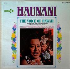 HAUNANI - THE VOICE OF HAWAII - DECCA LBL - STEREO LP - 1964
