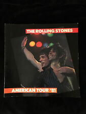ROLLING STONES-U.S.A. TATTOO YOU TOUR-CONCERT PROGRAM-JAGGER-RICHARDS-1981