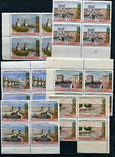 RUSSIA YR 1953,SC 1666-71,MI 1669-74,MNH,VOLGA-DON CANAL VIEWS,BLOCKS 4