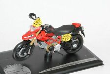 DUCATI HYPERMOTARD TDF 2008 ROSSO ENDURO 1/18 solido Modello Moto Modello Motorra