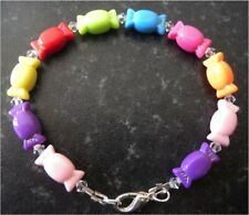 Gorgeous and pretty handmade sweetie bracelet incorporating swarvoski crystals