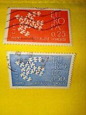 TIMBRE - POSTZEGELS - FRANKRIJK -  FRANCE 1961  NR.1309/10 ( F 451)