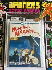 VGA UKG U90 MT Maniac Mansion PAL B SPAGNA GIOCO NUOVO NES Nintendo Vg000504