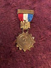 1850 Philidelphia 1900 Brotherhood Of The union Truth Hope Love Very Rare Medal