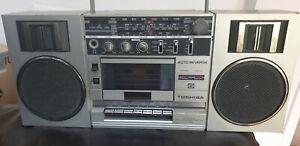 Vintage Rare Toshiba Stereo Radio Cassette Recorder RT-150S Boombox
