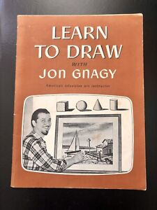 Learn To Draw With Jon Gnagy Paperback Vintage 1950