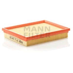 Mann C2256 Air Filter Element Flat 37mm Height 211mm Length 166mm Width Service