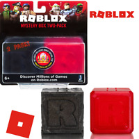 ROBLOX Mystery Figure Blind Boxes 2 PACK Series 5 Celebrity & 7 RED BLACK BOX