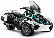 Can Am Spyder ST ST-S ST Limited graphic wrap decal kit The Perennial