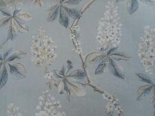 Sanderson Curtain Fabric 'Chestnut Tree' 3.5 METRES Grey Blue/Sage - Linen Mix
