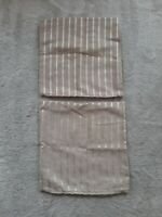 Satin Stripe Chenille Cushion Covers Home Signature Deluxe Textiles