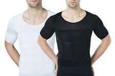 Sodacoda Men´s Body Compression T-Shirt Gynecomastia Shortsleeved Shape Shirt