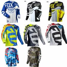Mens Fox Racing Jersey Shirt Men's Motocross/MX/ATV/BMX/MTB Cycling Bike Tops