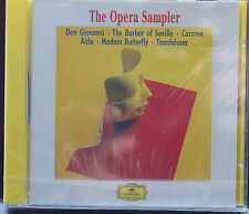 Rare Deutsche Grammaphone Opera Highlights CD Sealed Verdi Puccini Wagner