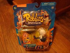 2014 UBISOFT--RAVING RABBIDS INVASION--CHICKEN SURPRISE FIGURE (NEW)