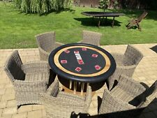 More details for bespoke casino poker table  with detachable outta ring