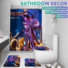 4X/ Bathroom Rug Shower Cover Curtain Skidproof Toilet Lid Bath Mat Rug