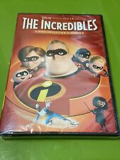 Disney The Incredibles (Dvd 2-Disc Collectors Ed Set Widescreen) New & Sealed