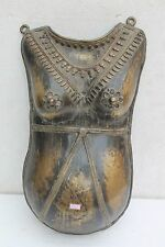 Vintage Old Hand Crafted Brass Solid Bhuta Lady Body Wall Hanging Mask NH2511
