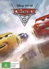 CARS 3 DVD DISNEY PIXAR NEW & SEALED- FREE POSTAGE! REGION 4